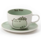 Tea-Rex Pusheen Cup and Saucer