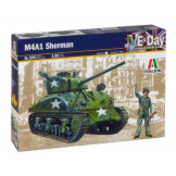 M4A1 Sherman Tank 1/35 Scale