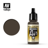 Vallejo Model Air Burnt Umber 17ml