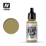 Vallejo Model Air Bright Brass 17ml