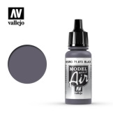 Vallejo Model Air Black Metallic 17ml