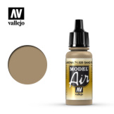 Vallejo Model Air Sand Yellow 17ml