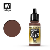Vallejo Model Air German Red Brown 17ml