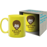 Bob Ross Crazy 11 ozMug