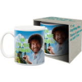 Bob Ross Move Mountains 11 oz Mug
