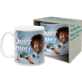 Bob Ross Just Chill 11 ozMug
