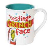 Grinch Resting Face 16 oz Mug