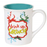 Grinch Drink up 16 oz Mug