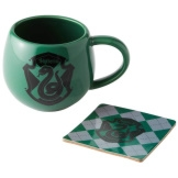 Slytherin Crest Mug & Coaster
