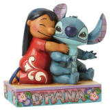 Lilo Hugging Stitch