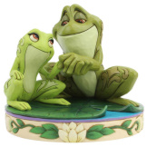 Tiana and Naveen as Frogs