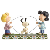 Sally, Lucy, Snoopy Jump Rope