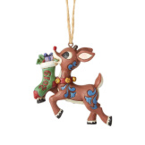 2019 Rudolph Stocking Ornament