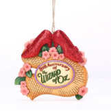 Wizard of Oz 80th RubySlippers Ornament