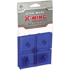 Star Wars X-Wing Miniatures Bases & Pegs Blue
