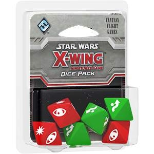 Star Wars X-Wing Miniatures Dice Pack