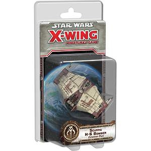 Star Wars X-Wing Miniatures Scurrg H-6 Bomber