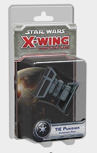 Star Wars X-Wing Miniatures Tie Punisher