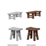 Wooden Table/Stools