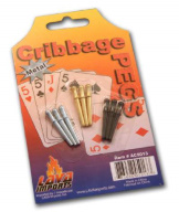 Cribbage Pegs Metal set of 9