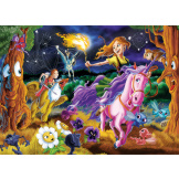 Mystical World 350 piece Family Puzzle