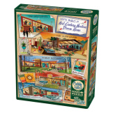 Mid-Century Modern Dream Home 1000 pieces