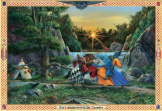 Sir Lancelot Meets Sir Tarquine 1000 piece puzzle