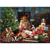Christmas Puppies 1000 pieces