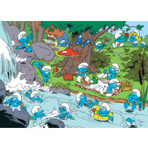 Smurfy Picnic 350 piece Family Puzzle