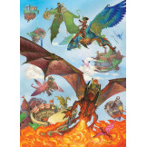 Dragon Flight 350 piece Family Puzzle