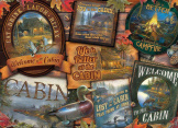 Cabin Signs 1000 Pieces