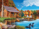 Loon Lake 500 piece puzzle