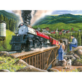 Steaming out of Town 275 Pieces