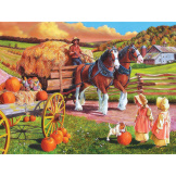 Hay Wagon 275 pieces