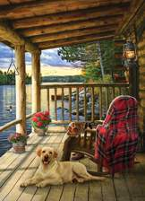 Cabin Porch 1000 piece puzzle
