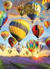 Hot Air Balloons 1000 piece puzzle