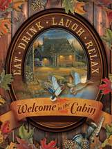 Welcome to the Cabin 275 piece puzzle