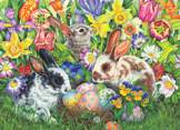 Easter Bunnies 500 piece puzzle