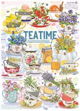 Tea Time 1000 piece puzzle