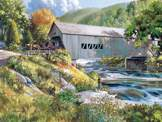 Covered Bridge 275 piece puzzle