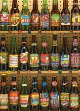 Beer Collection 1000 piece puzzle
