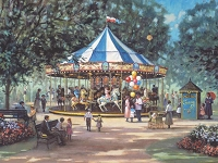 Carousel Ride 275 piece puzzle
