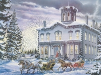 Christmas at Kilbride 275 piece puzzle