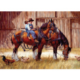 Back to the Barn 1000 piece puzzle