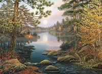 Deer Lake 1000 piece puzzle