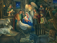 Away in a Manger 500 piece puzzle
