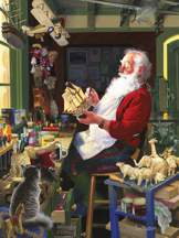 Santa's Workbench 500 piece puzzle