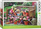 Garden Bench 1000 Pieces