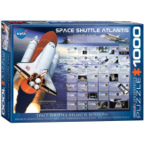 Space Shuttle Atlantis 1000 Pieces
