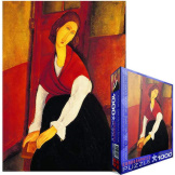 Jeanne Hebuterne in Red Shawl 1000 Pieces